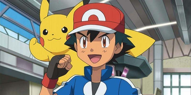 Ash and Pikachu (Image via The Pokemon Company)