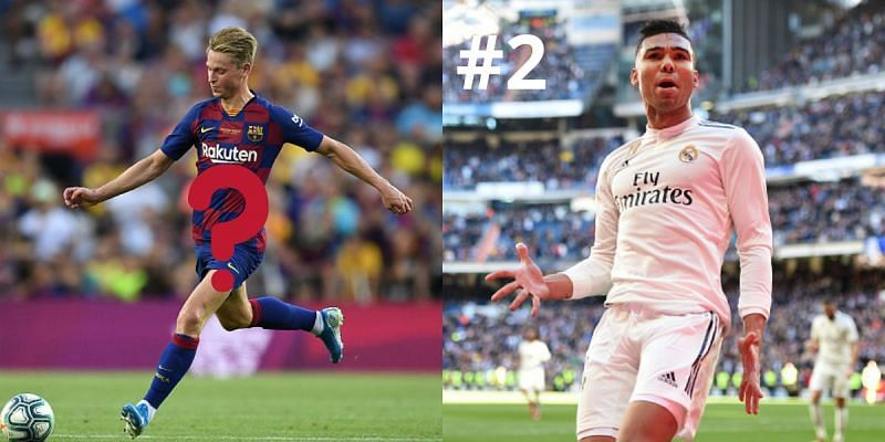 Casemiro and Frenkie de Jong are amongst the best midfielders in the world