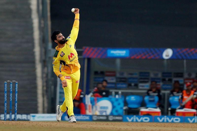Can Jadeja recreate his IPL 2021 magic against the Sunrisers? (Image Courtesy: IPLT20.com)