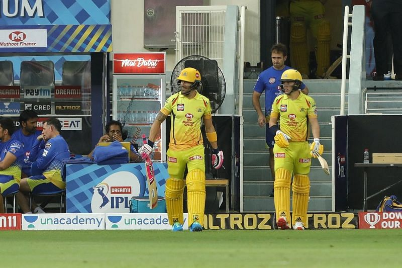 Faf du Plessis and Sam Curran were two of the best performers for CSK in IPL 2020