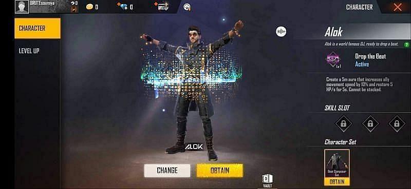 Free Fire में DJ Alok