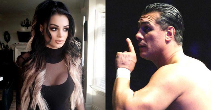 Paige and Alberto Del Rio.