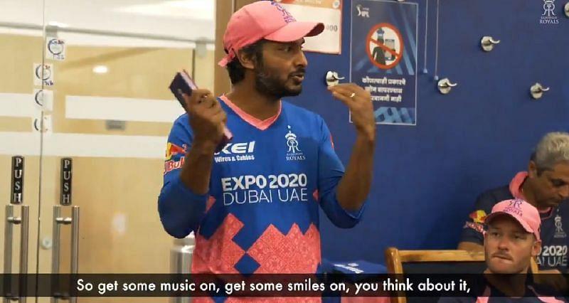 Kumar Sangakkara was seen lifting his team
