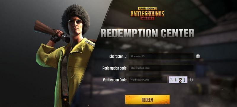 Players have to enter all the details and press the redeem button