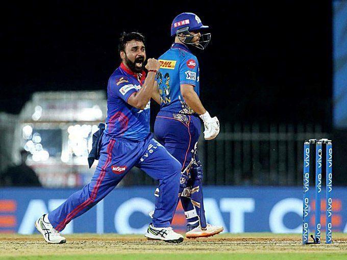 Amit Mishra celebrating a wicket on Tuesday. (PC: BCCI/IPL)