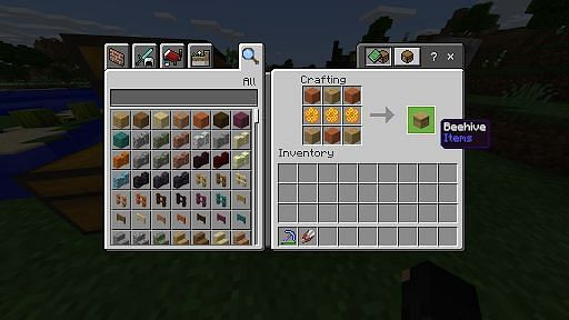 How do you Make a Beehive in Minecraft- Step 1