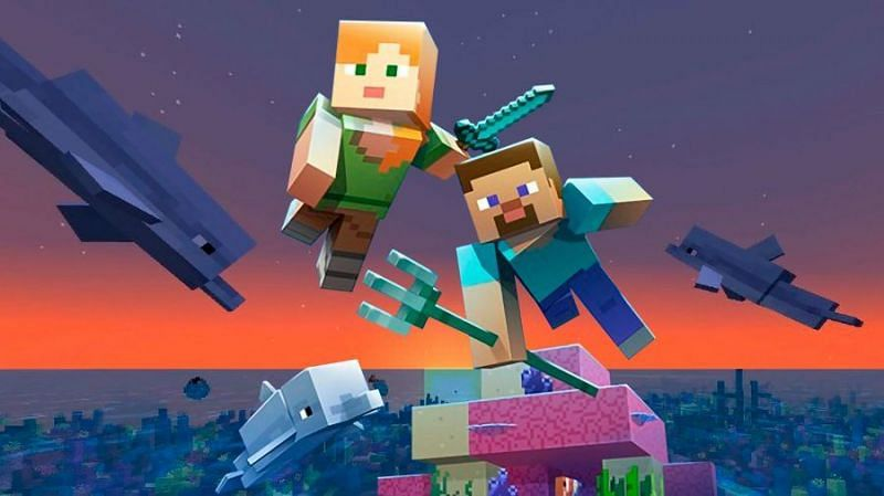 Minecraft update art (Image via mp1st)