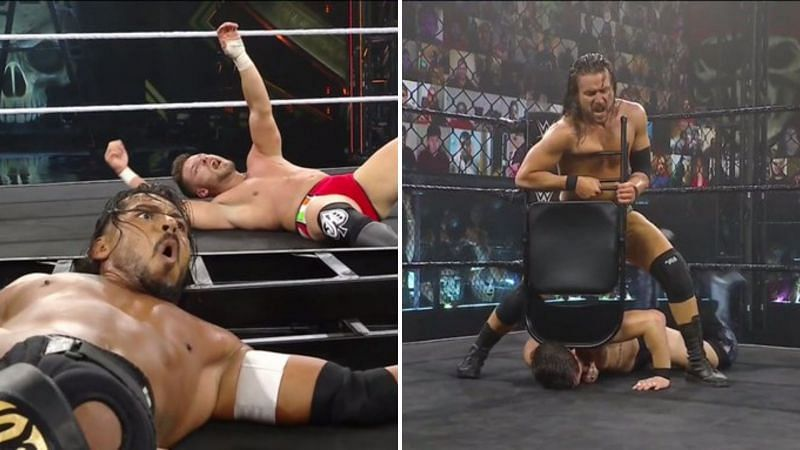 NXT TakeOver was bookended with two destructive bouts