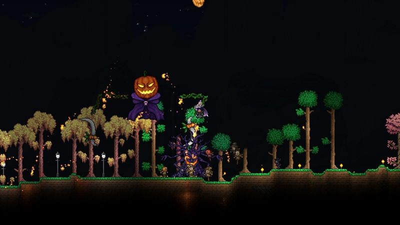 How to Start the Pumpkin Moon Event in Terraria