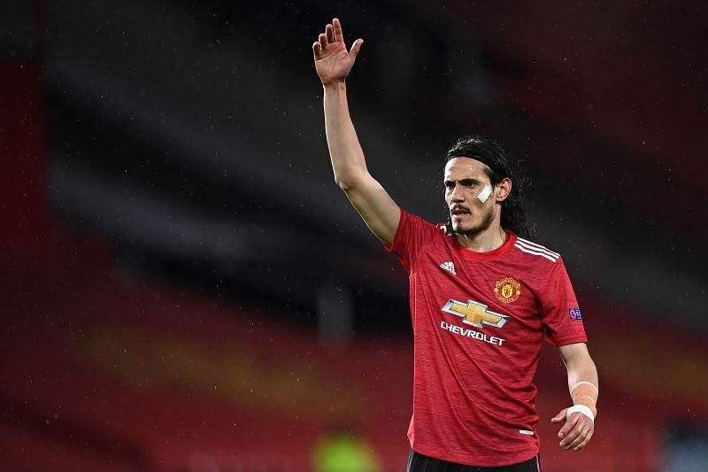 Edinson Cavani led the line admirably for Manchester United, bagging two goals and as many assists.