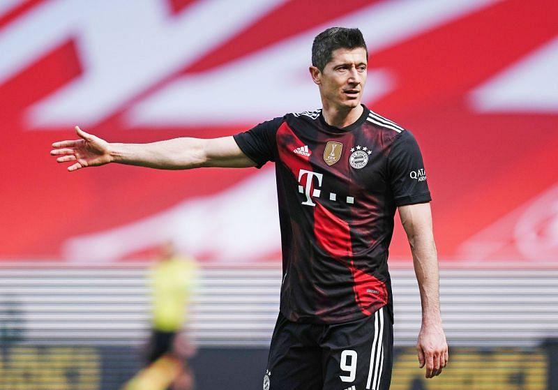 Lewandowski is on 36 goals for the season in the Bundesliga
