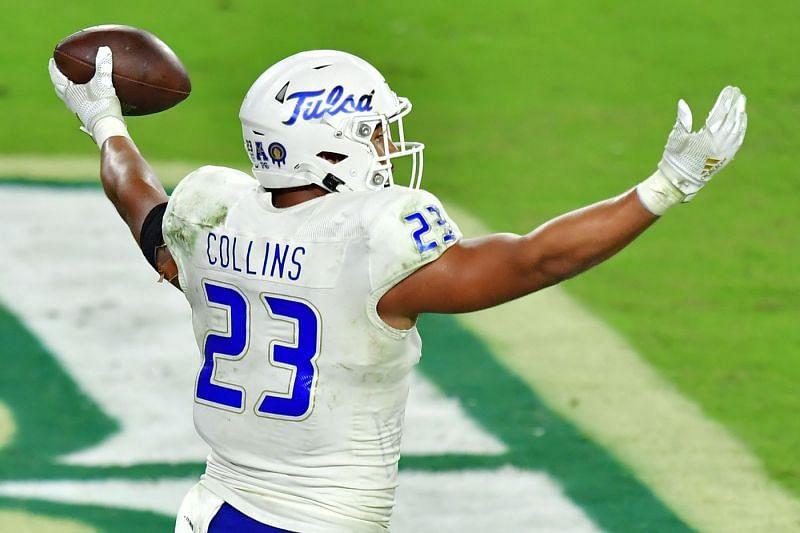 Tulsa LB Zaven Collins
