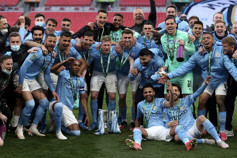 Manchester City and Pep Guardiola beat Tottenham to win the Carabao Cup