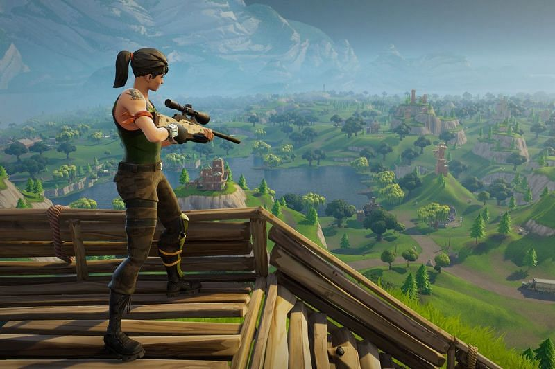 Snipers need to be added back into Fortnite Season 6 (Image via Fortnite, Epic Games)