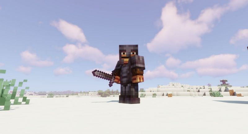 With Netherite Ingots, players can upgrade Diamond Gear and craft the strongest gear in Minecraft (Image via Minecraft