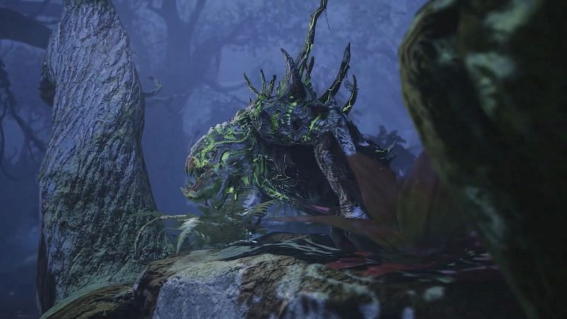 """Tyrannus is the boss that players need to fight at the end of the quest called """"Predator to Prey"""" (Image via Square Enix)"""