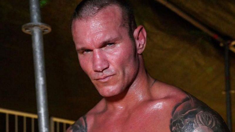 Randy Orton didn't take too kindly to Kurt Angle's tweet (Credit: WWE)