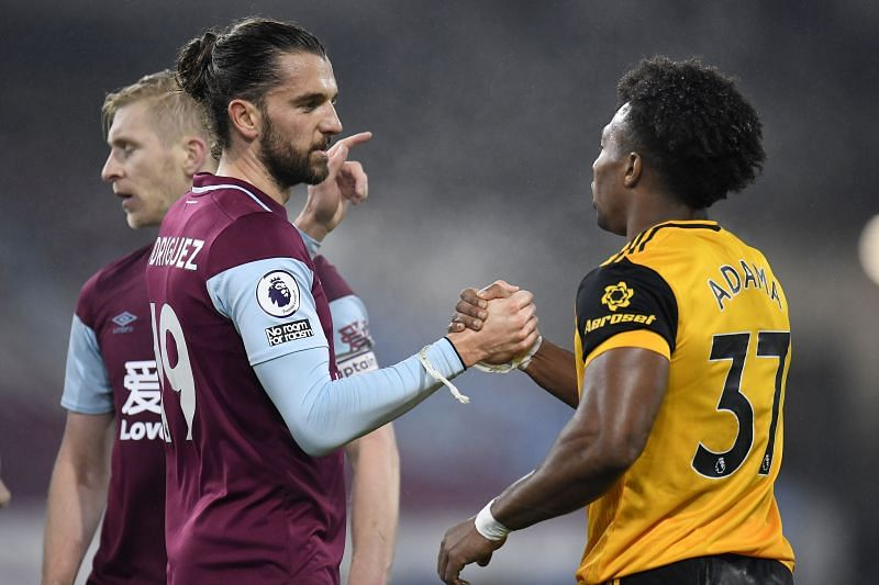 Burnley will take on Wolverhampton Wanderers at the weekend