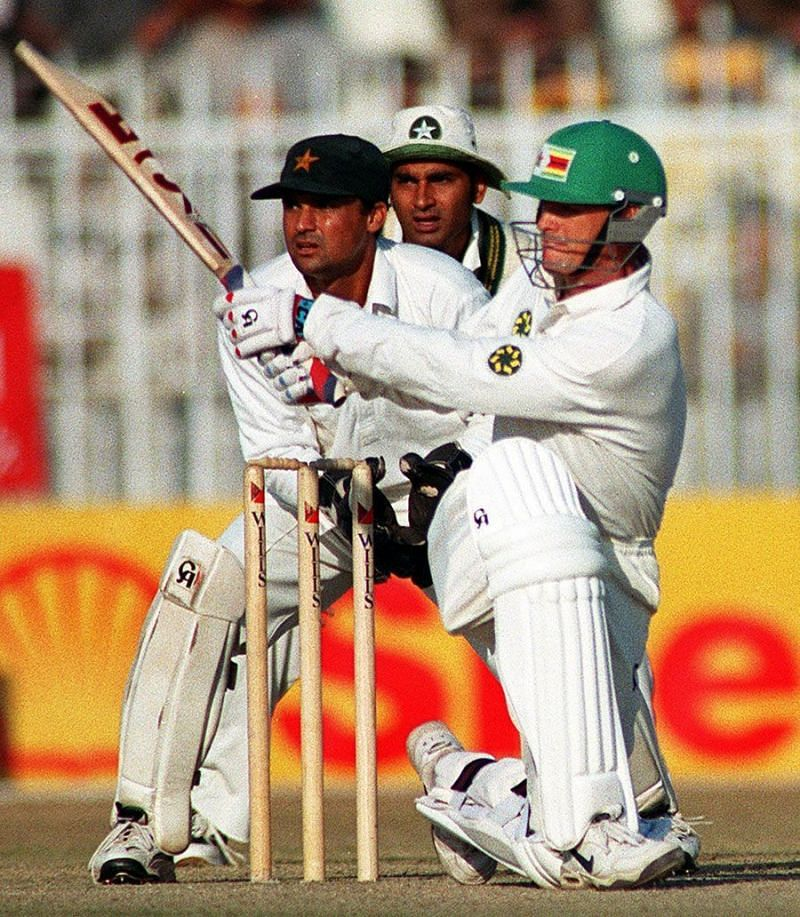 Zimbabwe gave their best during the 1998 tour of Pakistan. (Source: AFP)