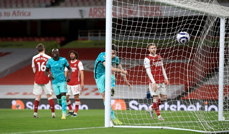 Arsenal suffered a heavy 3-0 defeat at the hands of Liverpool