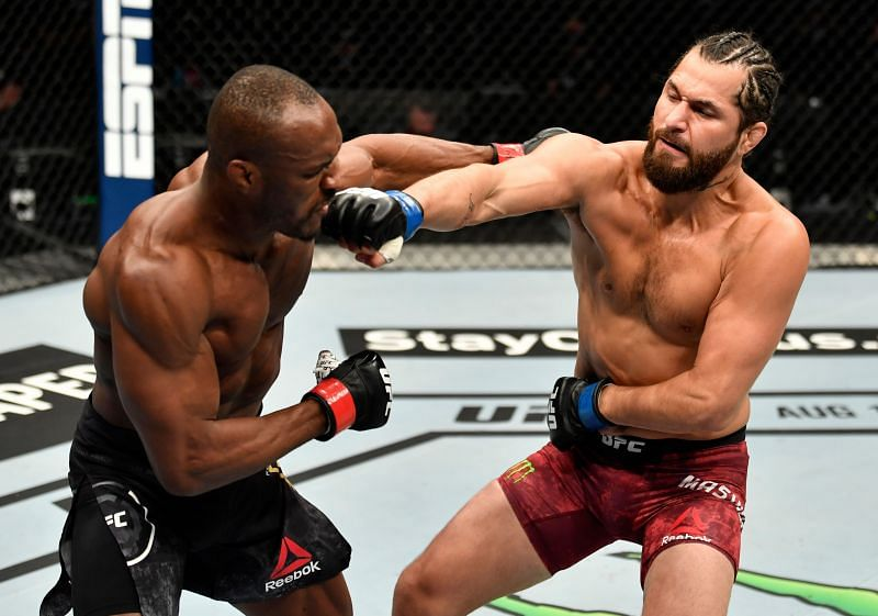 Kamaru Usman and Jorge Masvidal will meet again in the main evnet of UFC 261