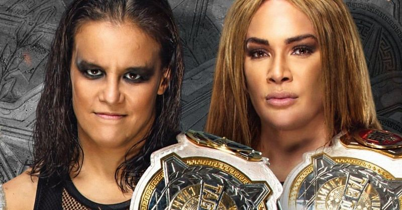 Nia Jax and Shayna Baszler will defend their Tag Titles at WrestleMania 37