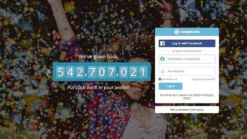 Swagbucks is a GPT website (Image via Swagbucks)