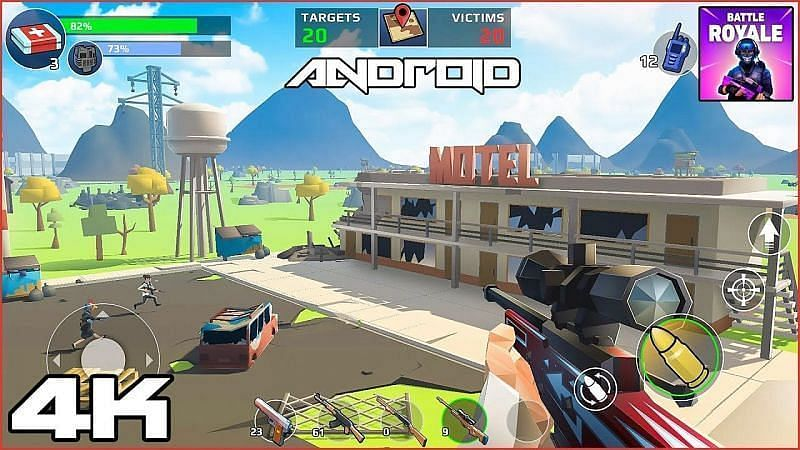 Battle Royale: FPS Shooter (Image via The CGGuides - Gameplay & Walkthrough, YouTube)