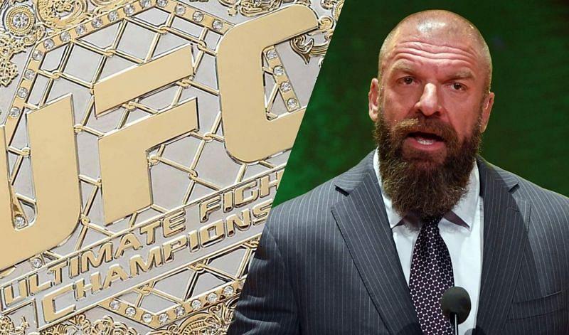 UFC Championship/Triple H (Credit: UFC, Getty Images)