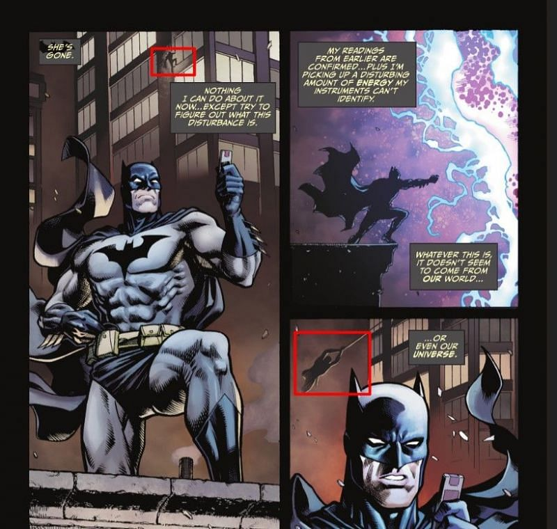A snippet from the comic (Image via Fortnite/DC Comics)