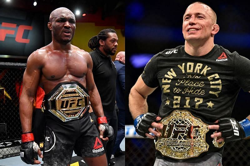Kamaru Usman has the backing of former UFC welterweight champion Georges St-Pierre.