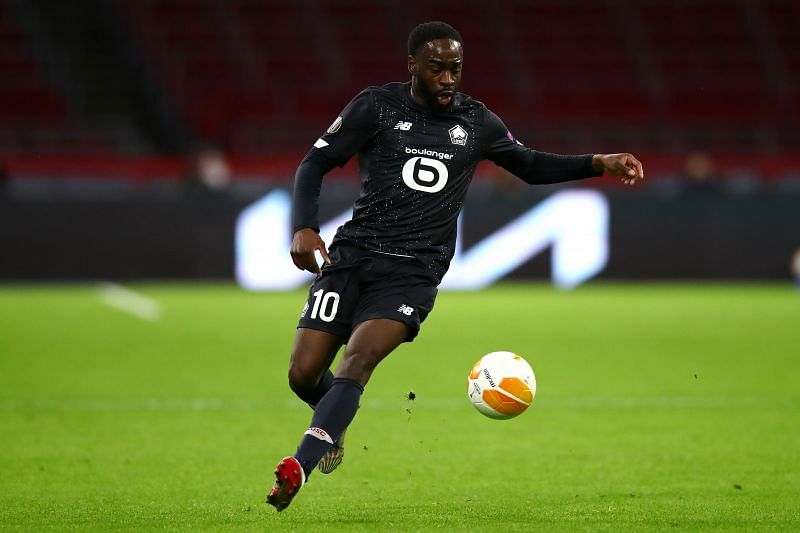 Jonathan Ikone will lead the line for Lille against Metz