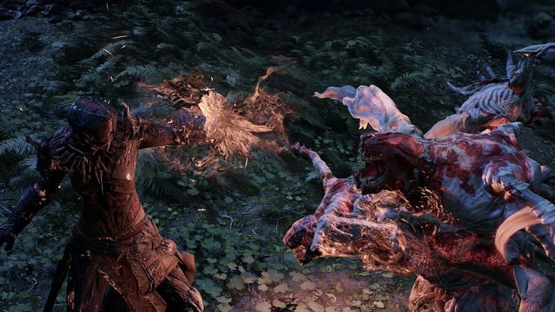 Players can find Splittooth in the Forest Enclave area on the Outriders map (Image via Square Enix)