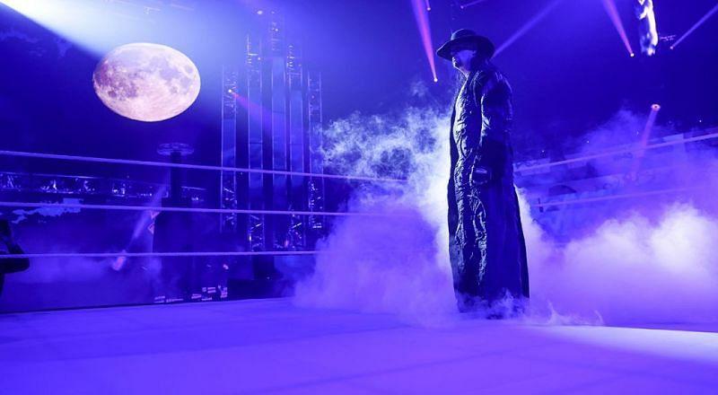 The Undertaker at Survivor Series 2020 (Credit: WWE)