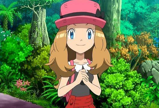 Serena in the anime (Image via The Pokemon Company)