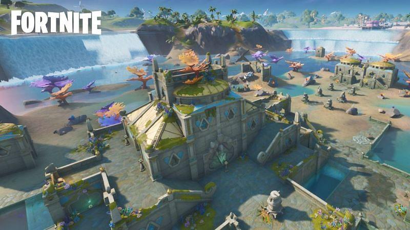 Coral Castle (Image via Epic Games)