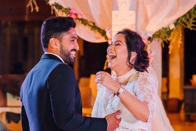Karun Nair's and Sanaya Tanakriwala's Couple Moments
