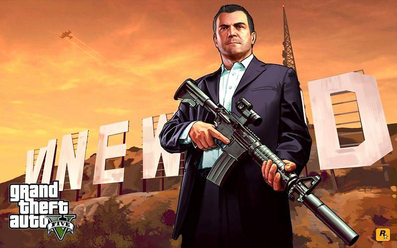 Michael De Santa (Image via Rockstar Games)