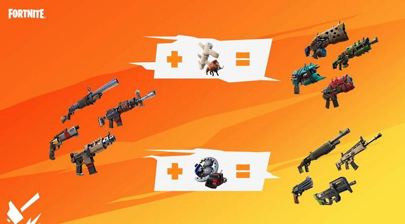 Makeshift Weapons Paired with Animal Bones Make Primal Weapons {Image via Epic Games}