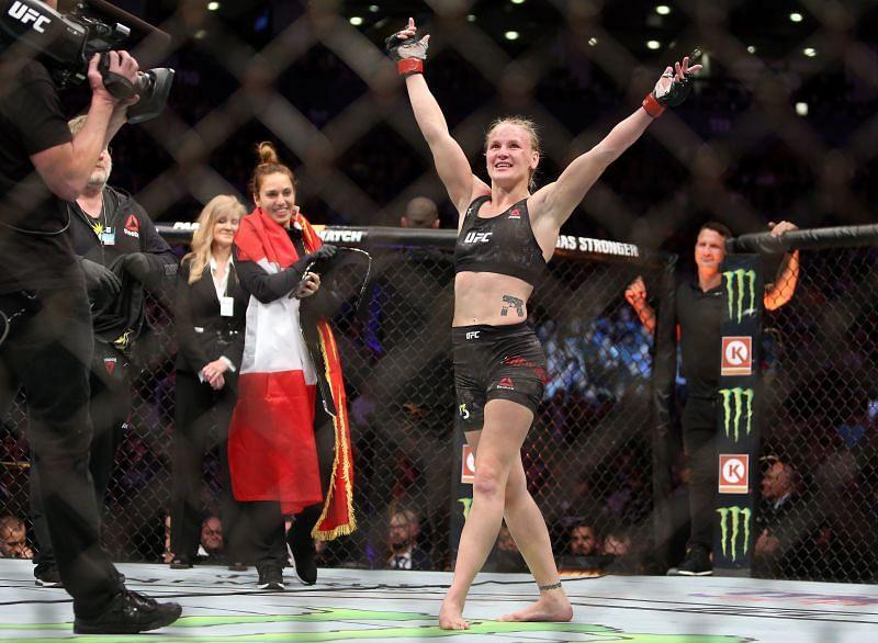 Current UFC Flyweight champion Valentina Shevchenko might be the UFC