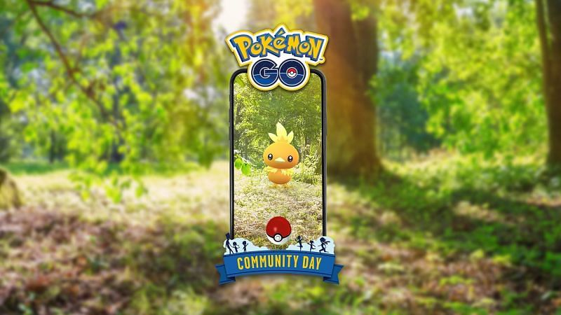 The May 2019 featured Pokemon for community day (Image via Niantic)