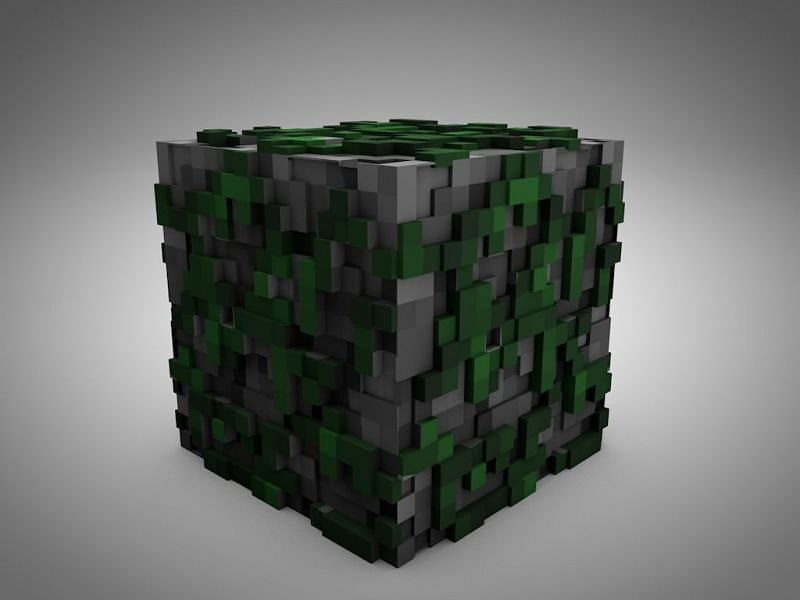 Mossy cobblestone (Image via minecraftforum)
