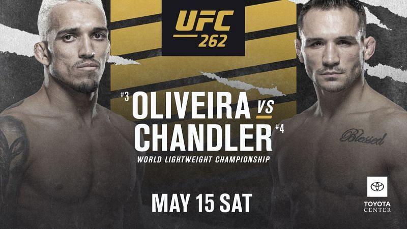 UFC 262: Oliveira vs. Chandler - UFC lightweight championship