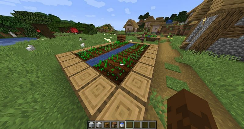 Having fully automatic farms allows players to focus on the fun stuff in Minecraft (Image via Minecraft)