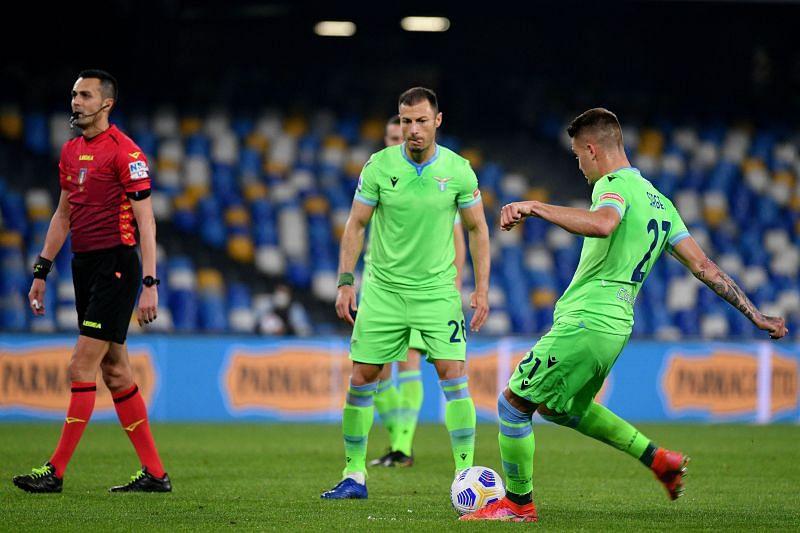 Milinkovic-Savic scored a free-kick against Napoli