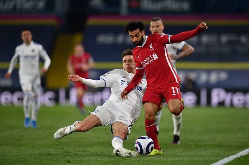 Liverpool and Leeds United played a 1-1 draw on Monday night