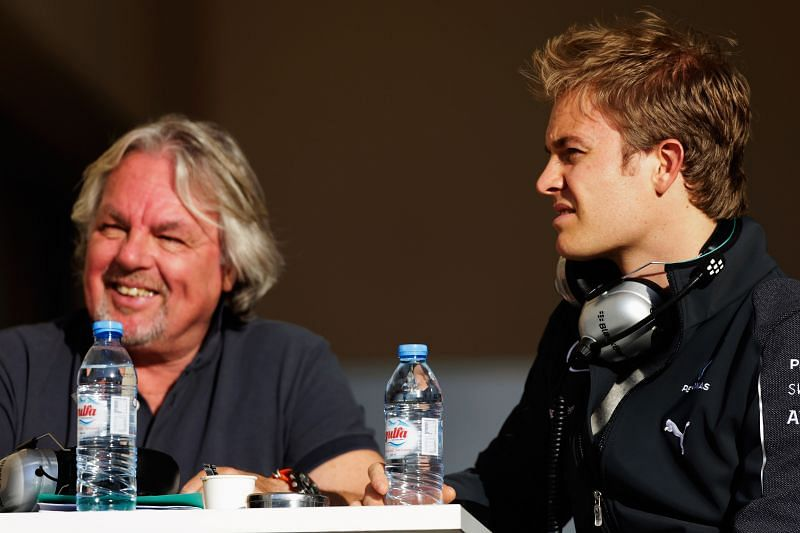 Keke and Nico Rosberg are only the second father-son to win F1 world championship. (Photo by Andrew Hone/Getty Images)