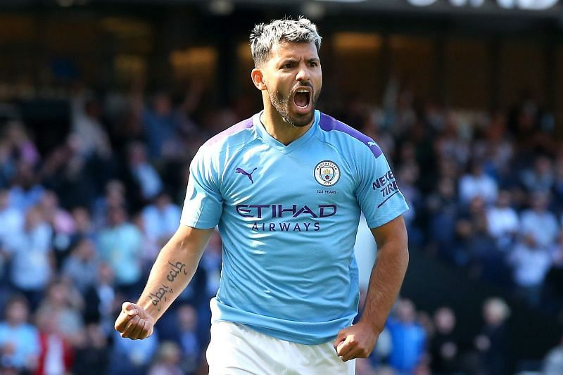 Sergio Aguero is linked with a move to Chelsea