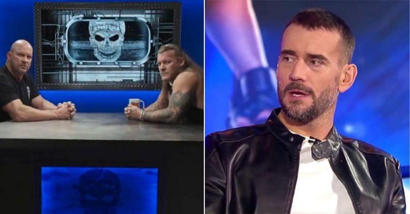 Stone Cold Steve Austin, Chris Jericho; CM Punk