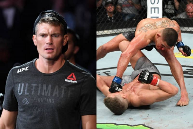 Stephen Thompson (Left) vs Anthony Pettis on March 23, 2019 (Right)